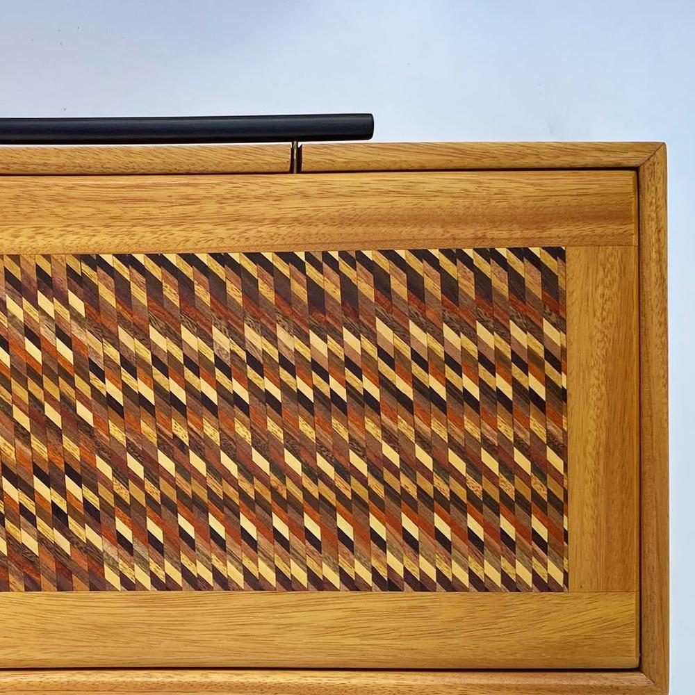 Mosaic-wood-tea-box-with-lid- 2