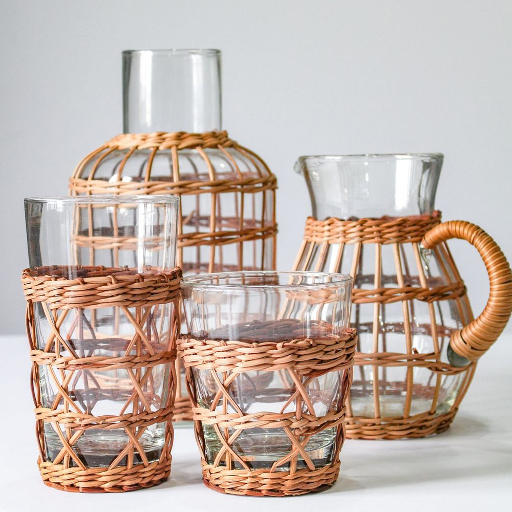 Rattan-cage-pitcher