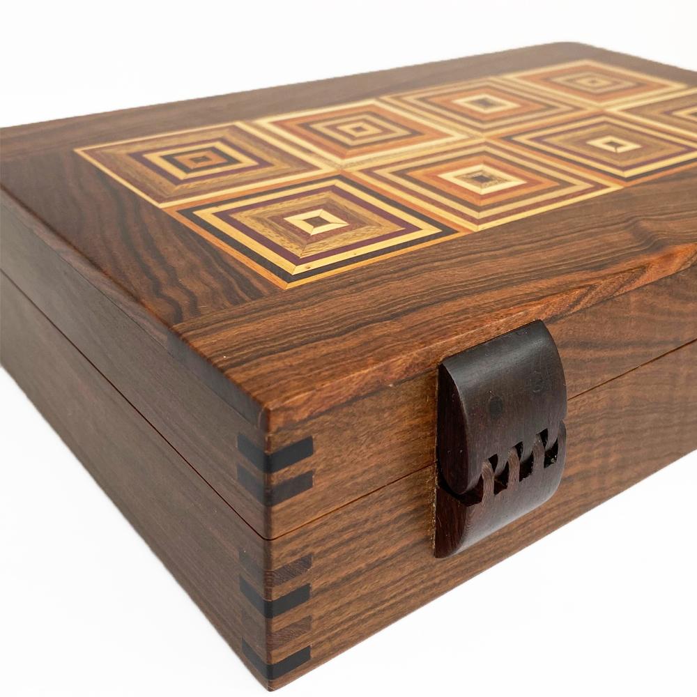 Tobacco-decorative-wood box-2