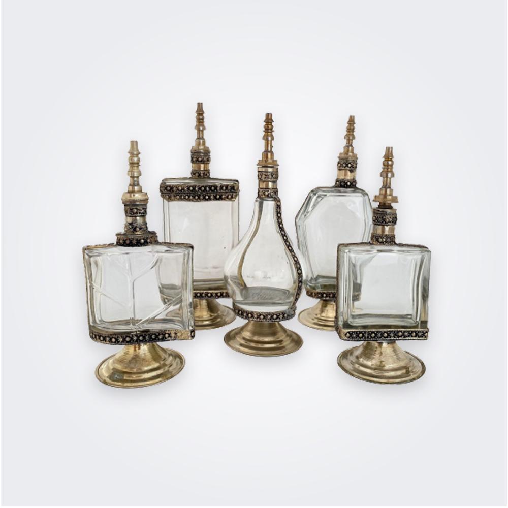 Vintage-perfume-bottle-set-1