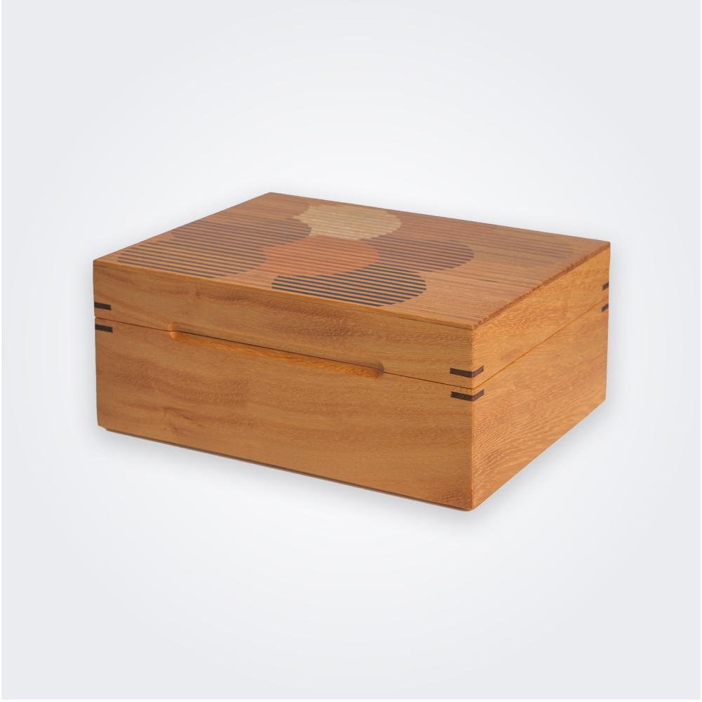 Wood-tea-box
