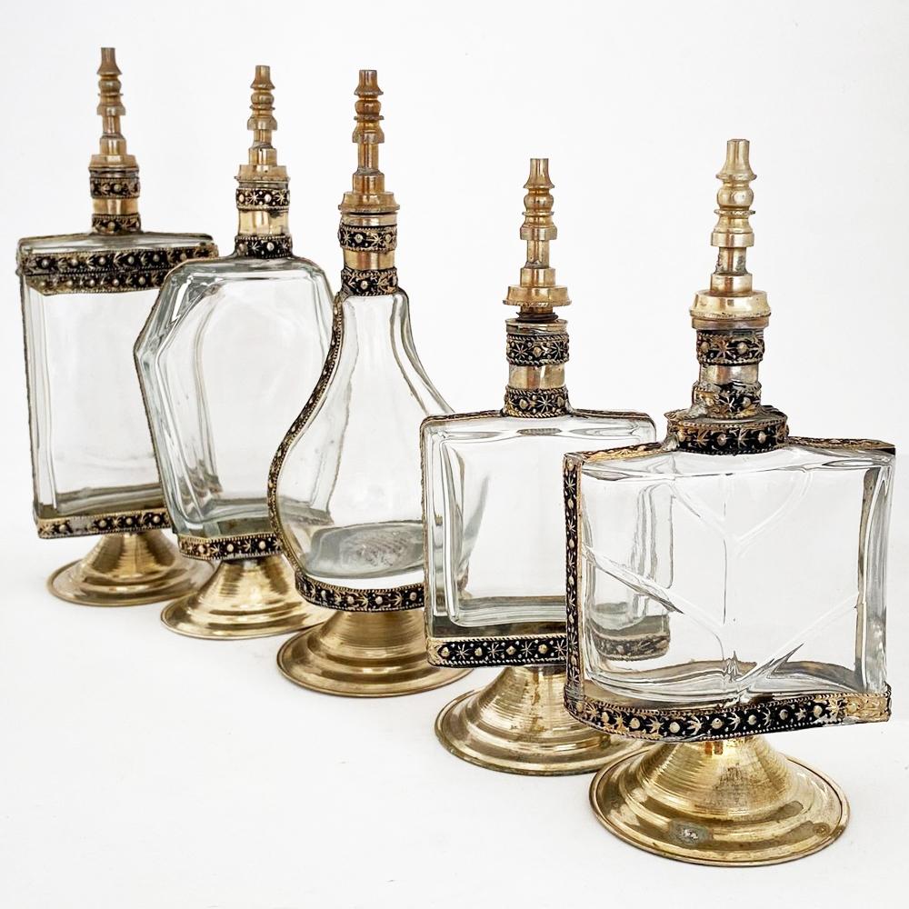 Vintage-perfume-bottle-set