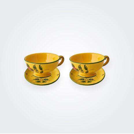 Giallo Fiore Teacup Set