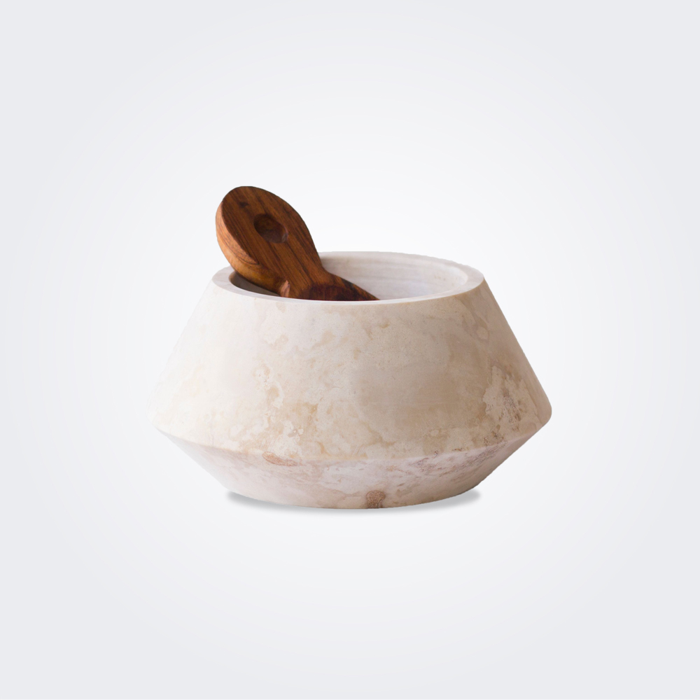 Macedonian-stone-container-with-wood-spoon