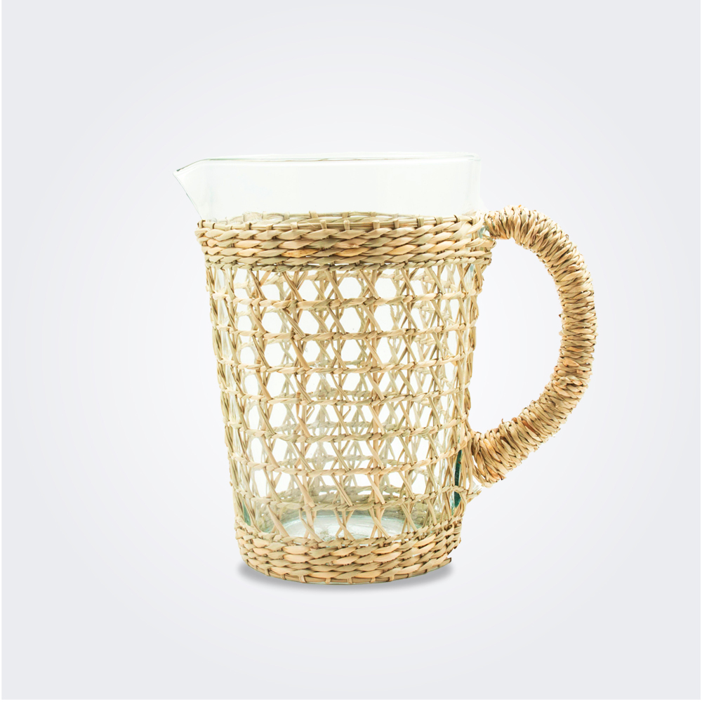Seagrass cage pitcher ii