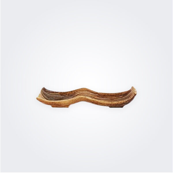 Banana da madeira ceramic tray product picture.