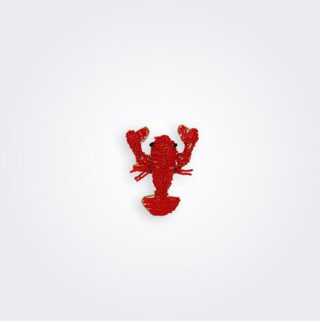 Beaded Lobster Napkin Ring Set