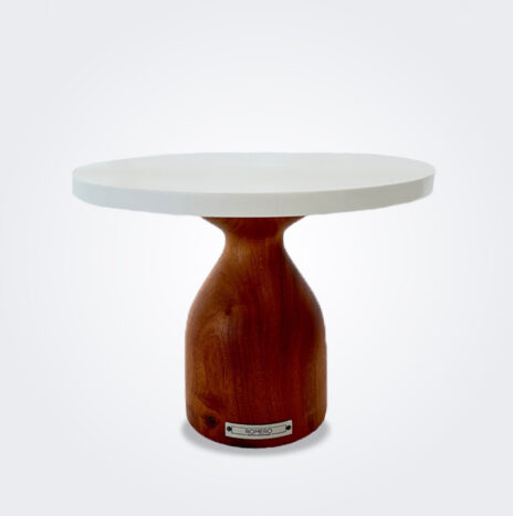 Cinaro Wood Pedestal Cake Stand (Medium)