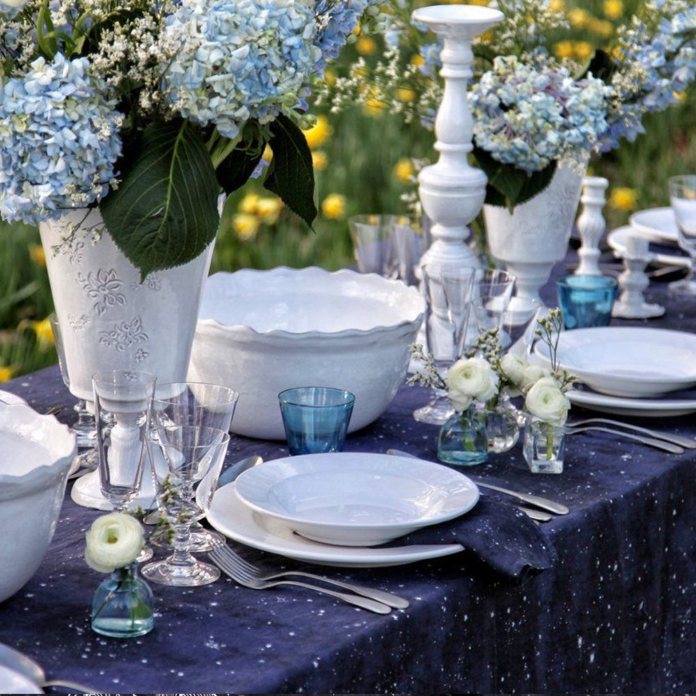 Constellation Linen Tablecloth 7