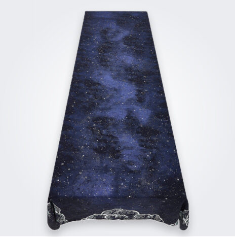 Large Constellation Linen Tablecloth