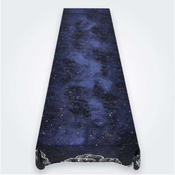 Large constellation table linen product picture.
