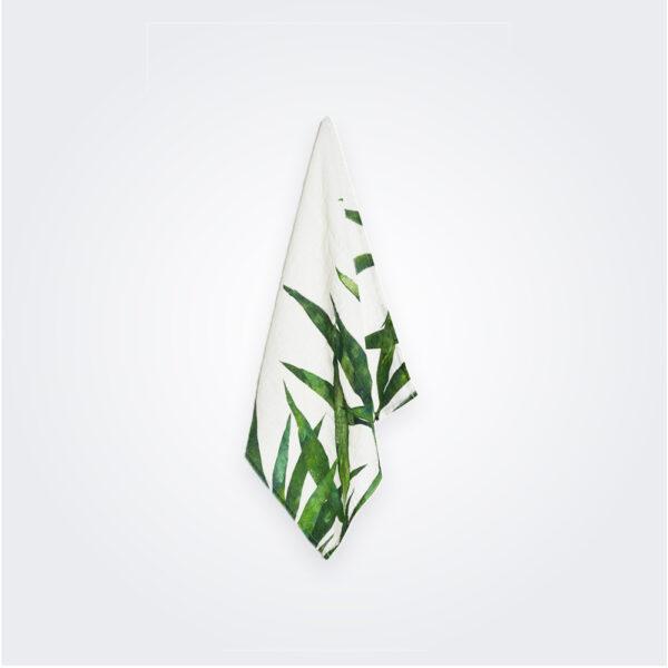 Palmier linen napkin product picture.