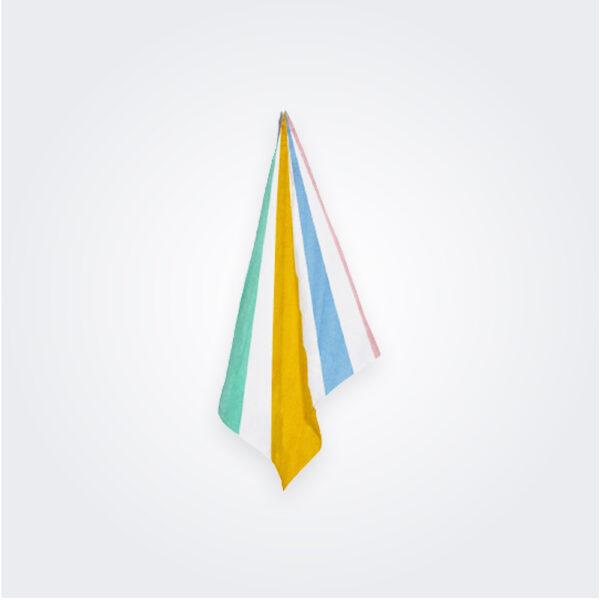 Multicolor le cirque linen napkin product picture.