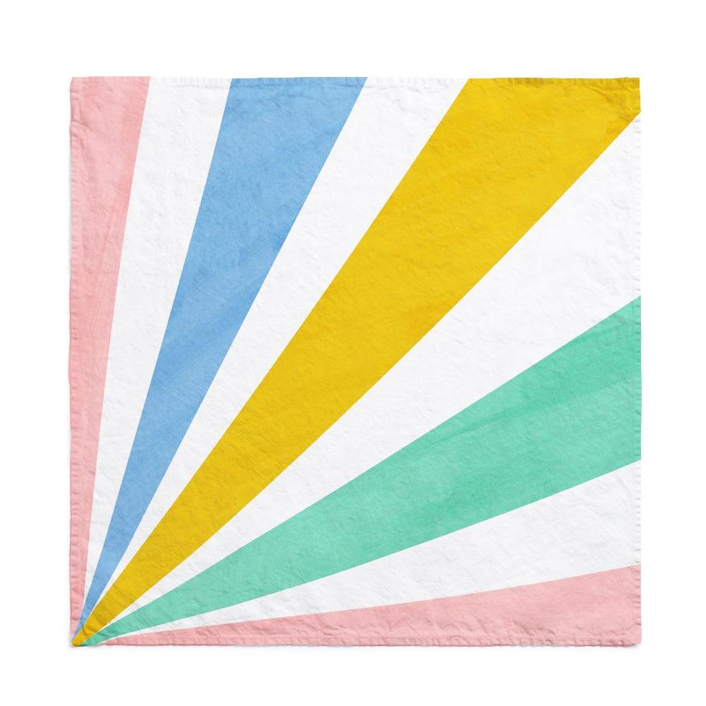 Multicolor Cirque Linen Napkin 2