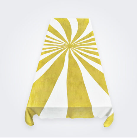 Medium Mustard Le Cirque Linen Tablecloth