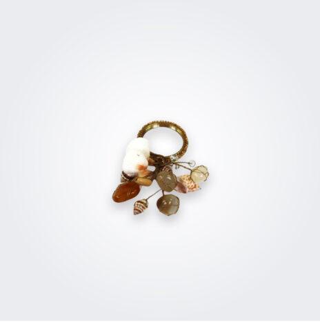 Ocean Shells Napkin Ring Set