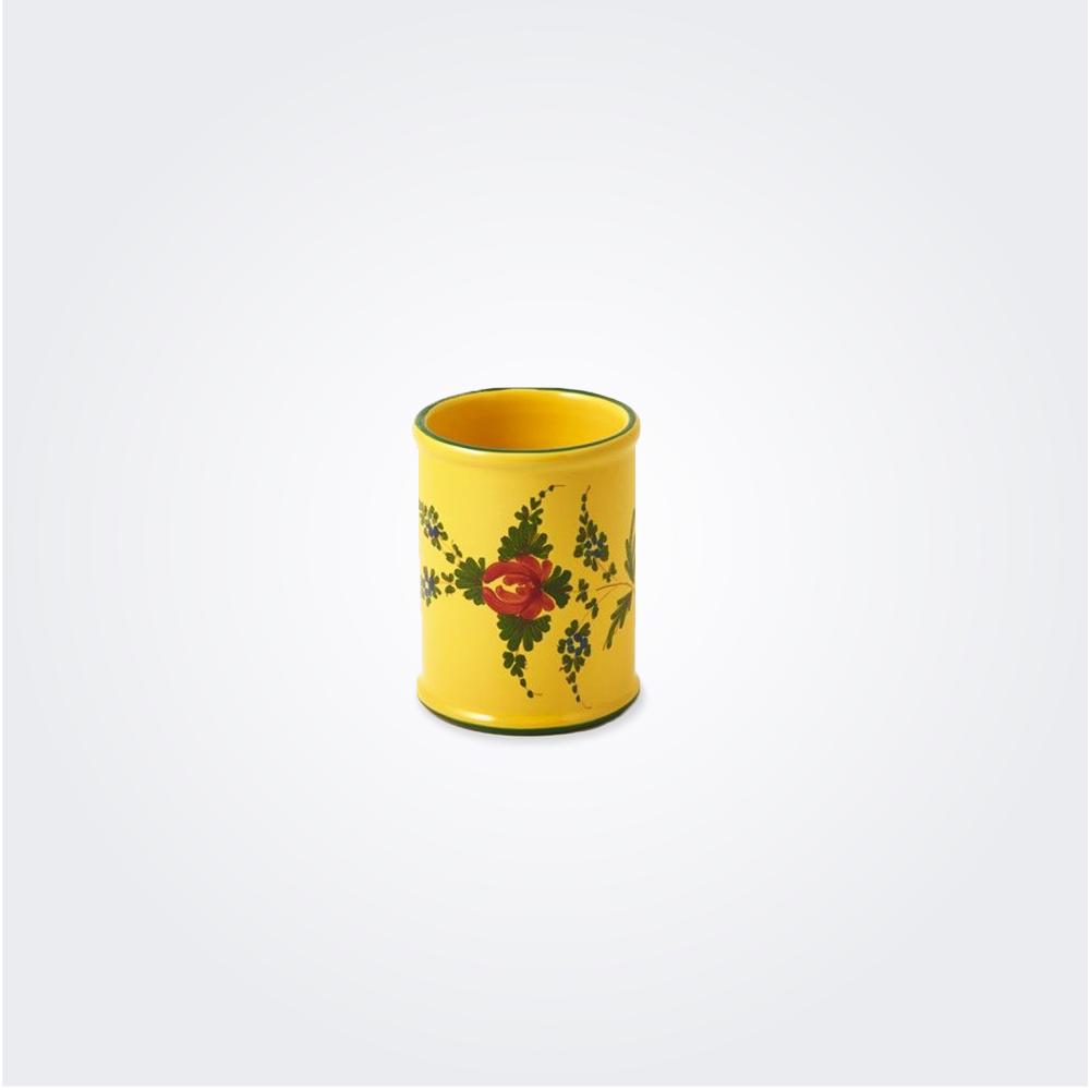 Oriente italiano giallo breadstick holder