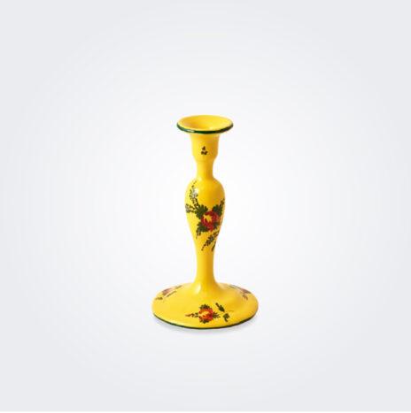 Oriente Italiano Giallo Candle Holder