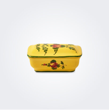Oriente Italiano Giallo Soap Dish