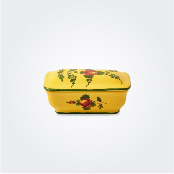 Oriente italiano giallo soap dish product picture.