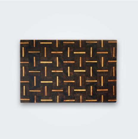 Patterned Wood Cutting Board (Medium)
