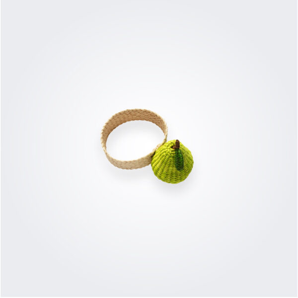 Pear napkin ring product picture.