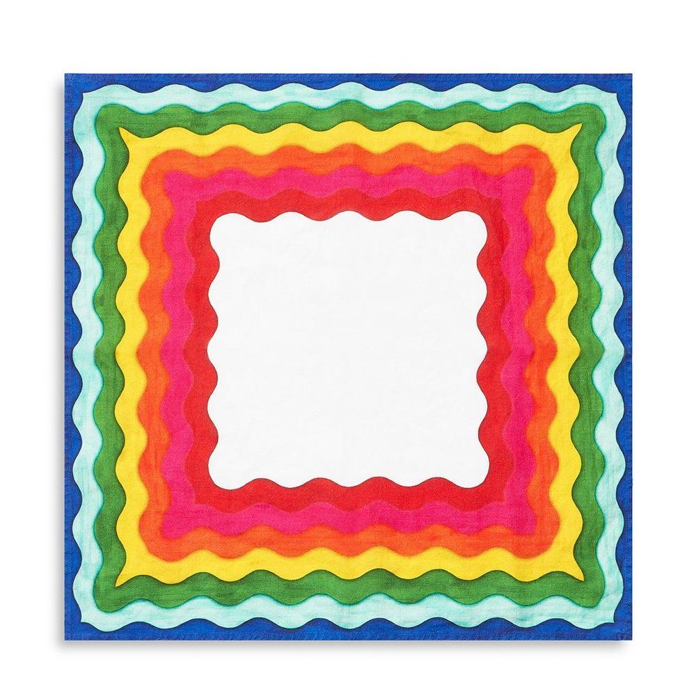 Rainbow Linen Napkin Set 2
