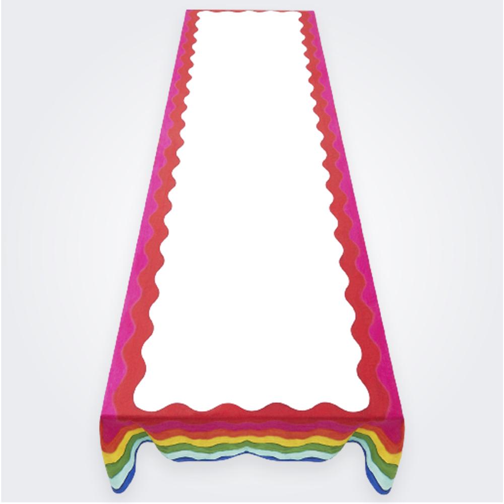 Rainbow Linen Tablecloth (L ) 1