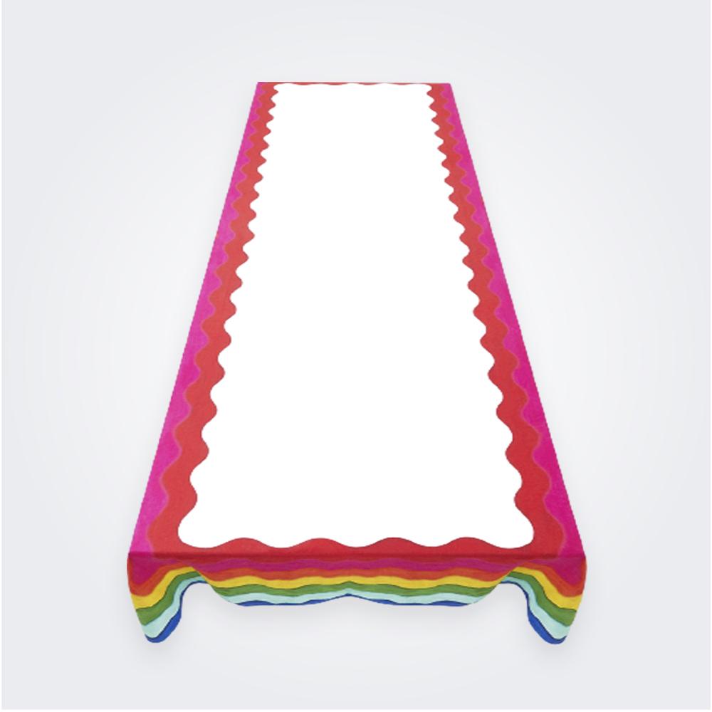 Rainbow Linen Tablecloth (M)