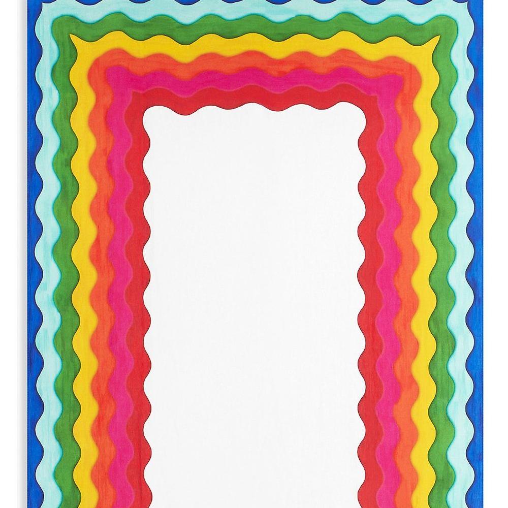 Rainbow Linen Tablecloth (S y L) 2