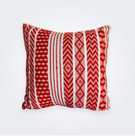 Red Guatemalan Pillow Cover