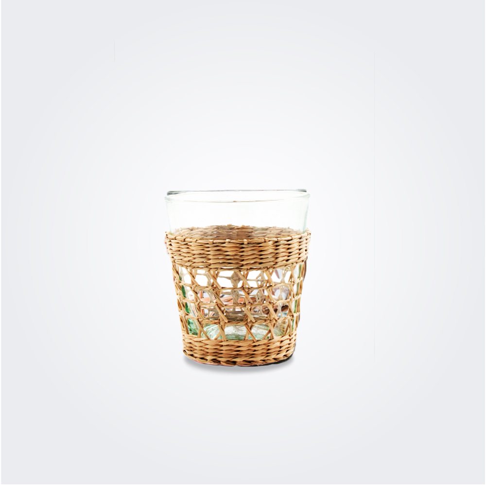 SEAGRASS CAGE TUMBLER SET