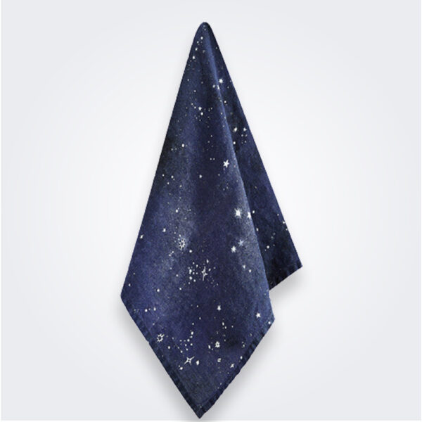 Constellation linen napkin product picture.