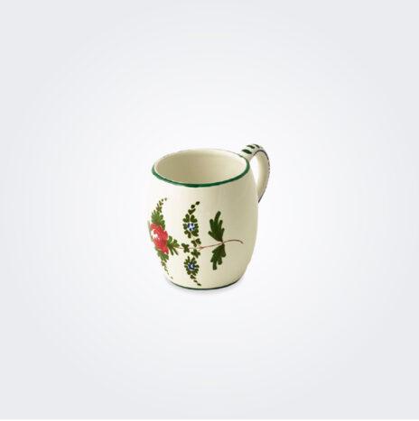 White Italian Pottery Mug Set