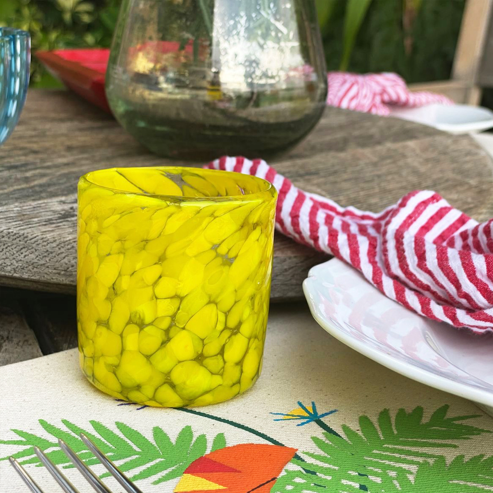Yellow-confetti-shot-glass-set-2