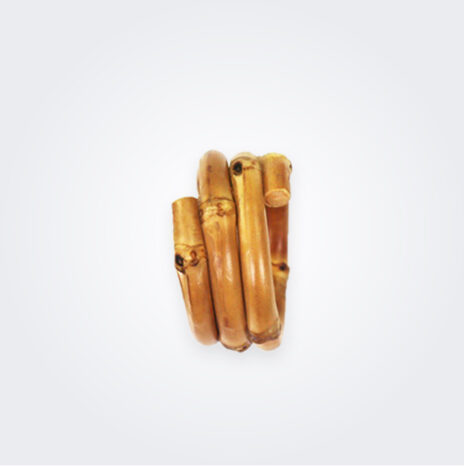 Bamboo Napkin Ring Set