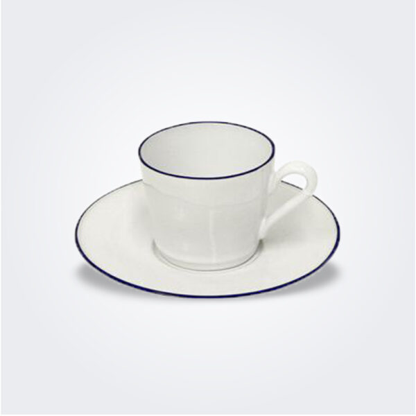 Beja tea cup and saucer set product picture.