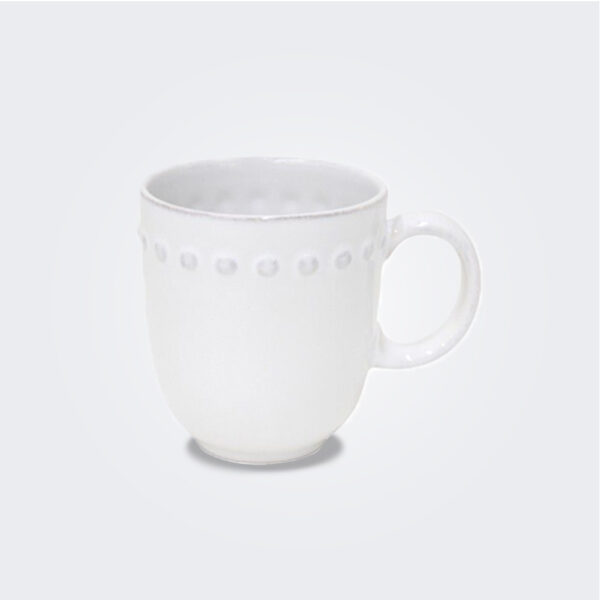 Costa Nova pearl mug set background.