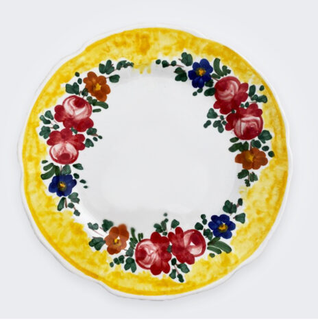 Floral Dinner Plate Set