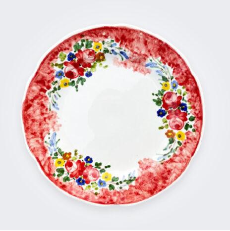 Floral Pasta Plate Set