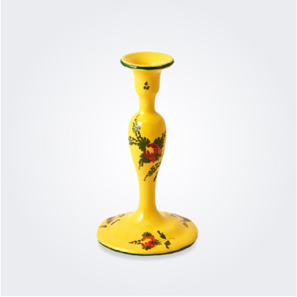 Oriente italiano giallo candle holder product picture.