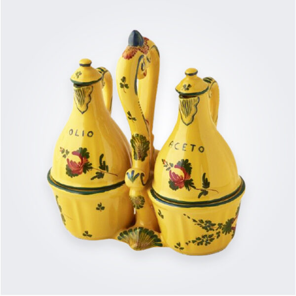 Oriente italiano giallo salad dressing set product picture.