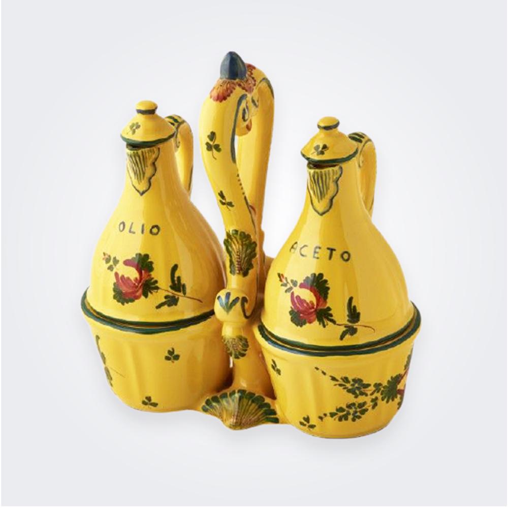 Oriente-italiano-giallo-salad-dressing-set