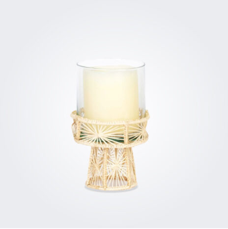 Small Palm Candle Holder
