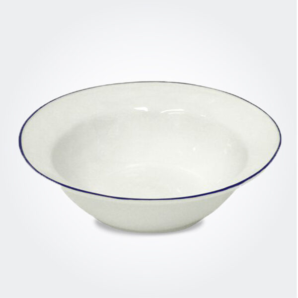 Beja ceramic serving bowl product picture.