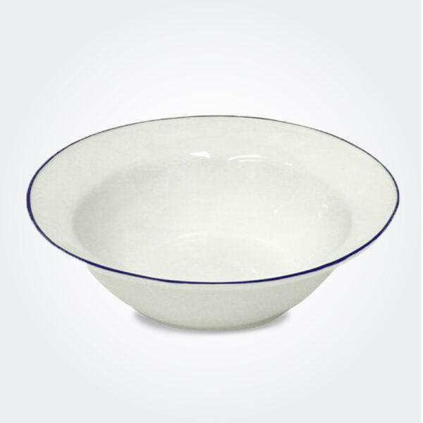 Beja ceramic serving bowl product picture.