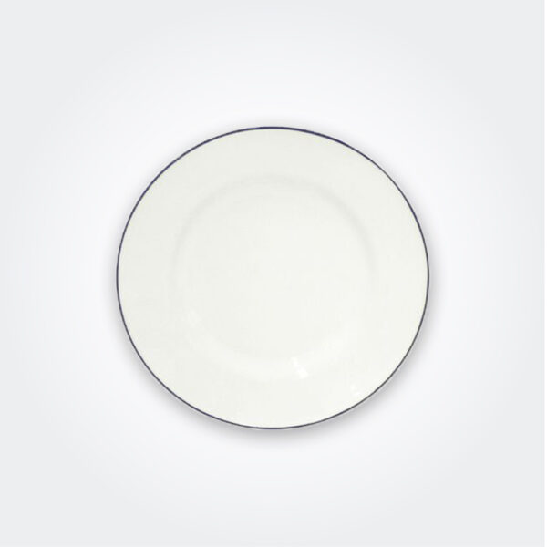 Beja stoneware salad plate set product picture.