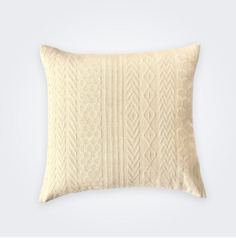 Beige Guatemalan Pillow Cover