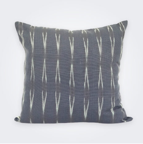Gray Reversible Pillow Cover