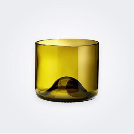 Wine Bottle Tumbler Glass Set
